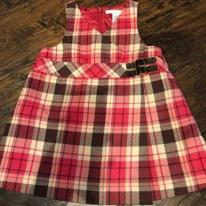 Janie and jack size 6-12 fall dress